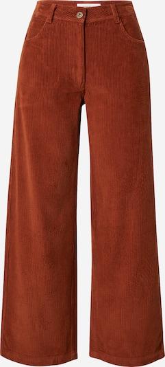 Pantaloni 'CLAY' Thinking MU pe roșu ruginiu, Vizualizare produs