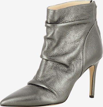 EVITA Ankle Boots in Silver