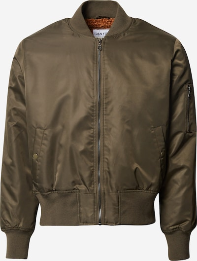 DAN FOX APPAREL Bomberjacke 'Andreas' in khaki, Produktansicht