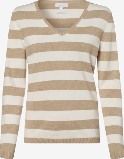 Brookshire Pullover in beige / weiß, Produktansicht