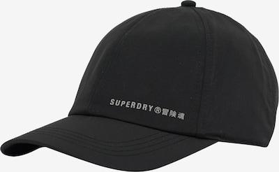 Superdry Sportpet in de kleur Zwart / Wit, Productweergave