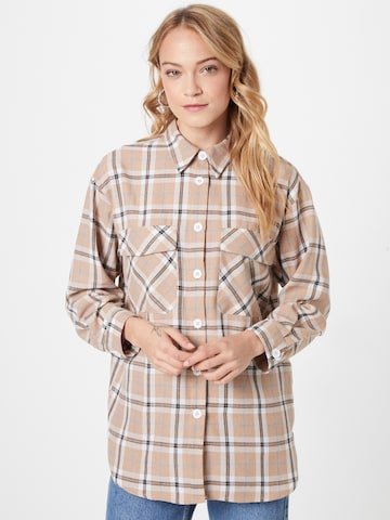 NEW LOOK Blouse 'BOBBY' in Brown