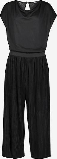 Betty Barclay Jumpsuit mit Wasserfallausschnitt in schwarz, Produktansicht