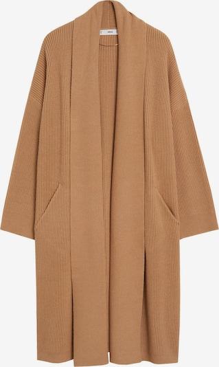 MANGO Pletený kabát - hnedá, Produkt