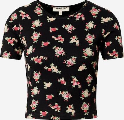 ABOUT YOU Shirts 'Nala' i blandingsfarvet / sort, Produktvisning