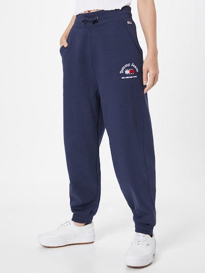Tommy Jeans Pants in Navy / Red / White, View model