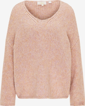 usha FESTIVAL Υπερμέγεθες πουλόβερ σε ροζ