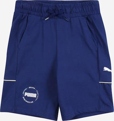 PUMA Shorts  'Alpha' in navy / gelb / weiß, Produktansicht