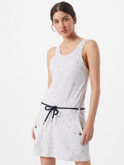 Ragwear Robe 'KESY' en mélange de couleurs / blanc, Vue avec modèle