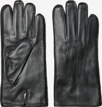 SELECTED HOMME Handschuhe 'Zain' in Schwarz