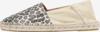 Scalpers Espadrilles 'Alba' in beige / braun / dunkelgrau, Produktansicht