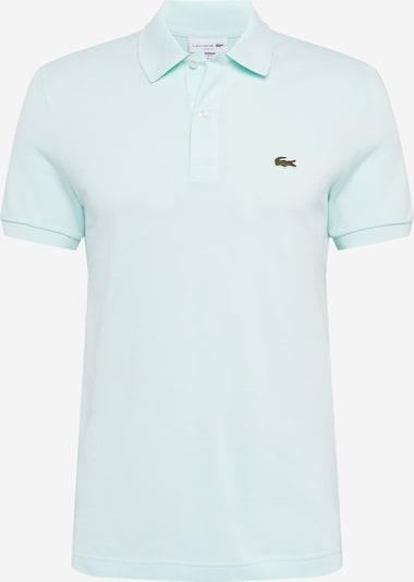 LACOSTE T-Shirt en bleu ciel, Vue avec produit