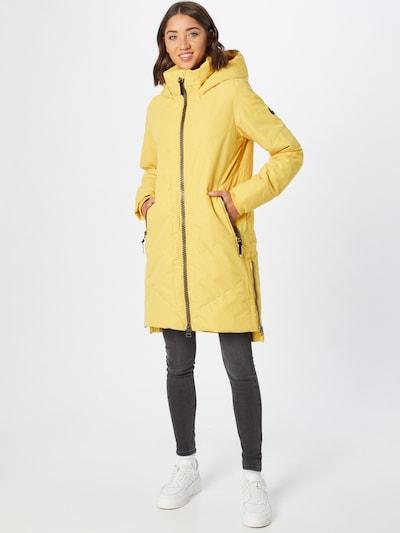 Alife and Kickin Mantel in gelb, Modelansicht