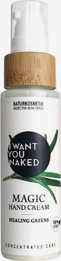 I Want You Naked Handcreme 'Healing Greens Magic' in weiß, Produktansicht