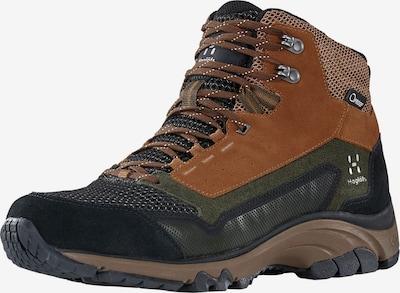 Haglöfs Boots 'Skuta Mid Proof Eco' en rouille / gris / anthracite / vert foncé, Vue avec produit
