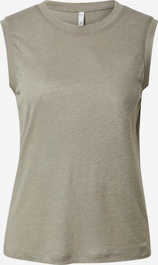 PULZ Jeans Top 'Zamalie' in grün, Produktansicht