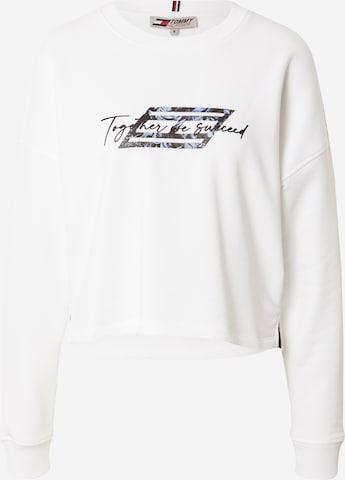 Tommy Sport Bluzka sportowa w kolorze biały