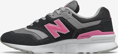 new balance Baskets basses en rose / noir, Vue avec produit