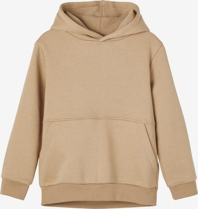 Felpa 'NEOS' NAME IT di colore marrone chiaro, Visualizzazione prodotti