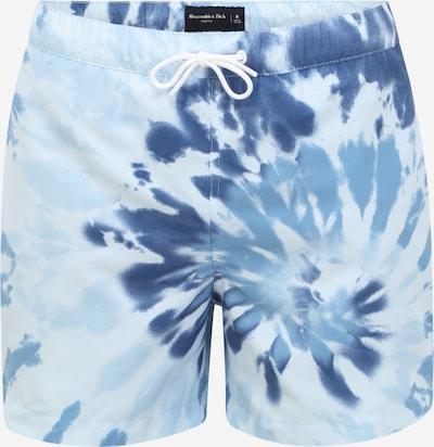 Abercrombie & Fitch Plavecké šortky - noční modrá / chladná modrá / světlemodrá, Produkt