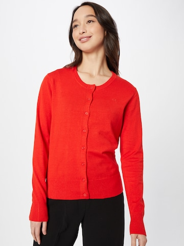 MEXX Knit Cardigan 'Susan' in Red