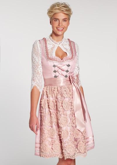 SPIETH & WENSKY Dirndl en rose / poudre, Vue avec modèle