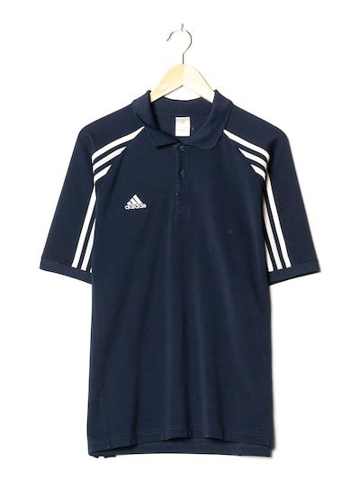 ADIDAS Polohemd in S-M in royalblau, Produktansicht