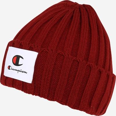Champion Authentic Athletic Apparel Mütze in rot / schwarz / weiß, Produktansicht