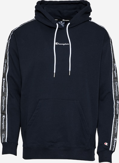Champion Authentic Athletic Apparel Sweatshirt in navy / grau / schwarz / weiß, Produktansicht