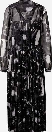DIESEL Jurk 'D-HINES' in de kleur Zwart / Wit, Productweergave