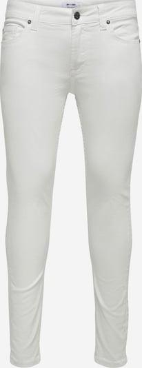 Only & Sons Jeans 'Warp' in de kleur Wit: Vooraanzicht