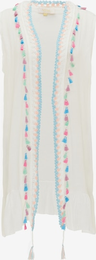 usha FESTIVAL Vest in Turquoise / Pink / White, Item view