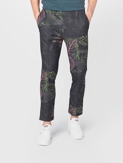 BOSS ATHLEISURE Kalhoty 'Hurley' - kámen / kiwi / růže / černá, Model/ka