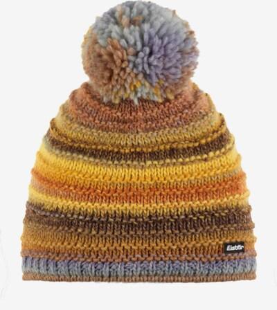 Eisbär Mütze in hellblau / braun / gelb, Produktansicht