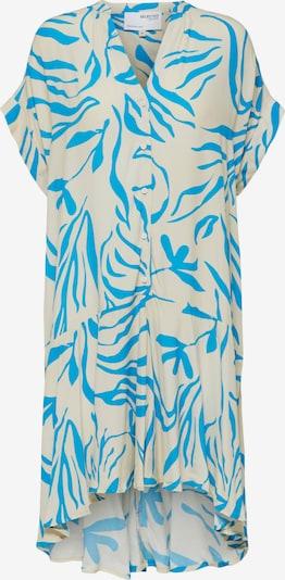 SELECTED FEMME Shirt Dress 'Tessi-Tonia' in Beige / Royal blue, Item view