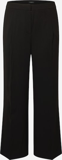Selected Femme Curve Trousers with creases 'Dinni' in Black, Item view