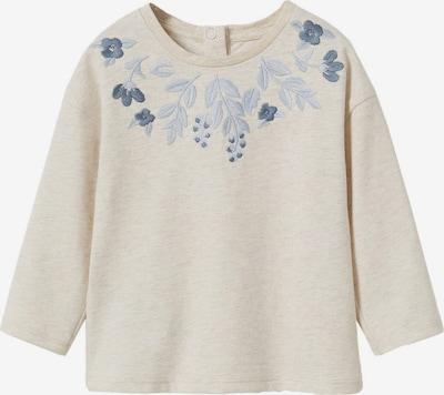 Tricou 'LETI' MANGO KIDS pe bej / albastru fumuriu / albastru porumbel, Vizualizare produs