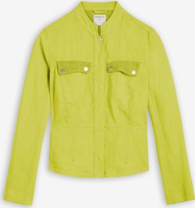 Sandwich Jacke in gelb, Produktansicht