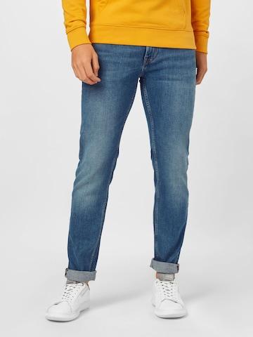 TOMMY HILFIGER Jeans 'Denton Extra Slim Fit' in Blau