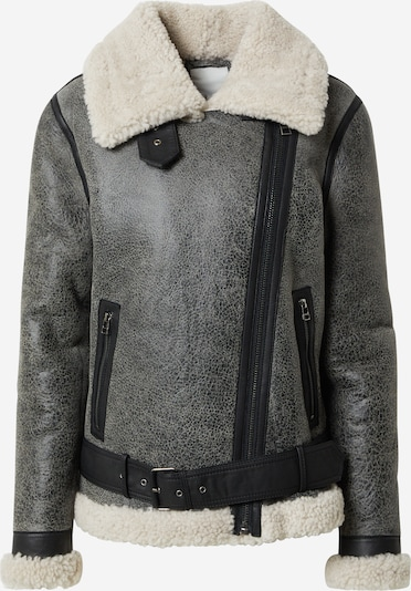 Goosecraft Zimní bunda 'Lisa Lammy' - šedá / bílá, Produkt