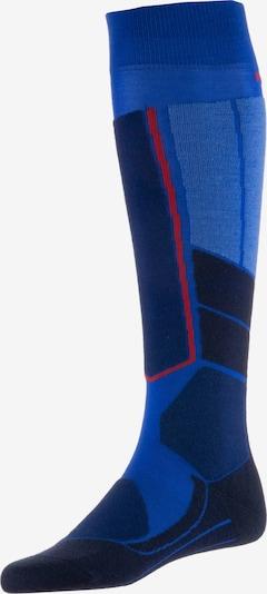 FALKE Sportsocken 'ST4' in dunkelblau / schwarz, Produktansicht