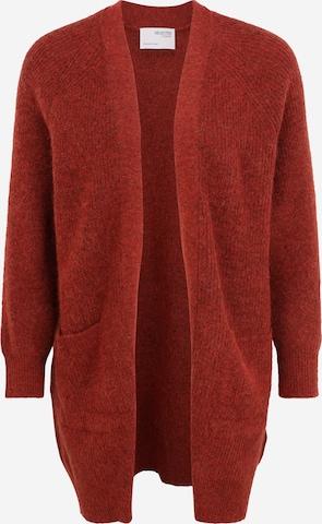 Cardigan Selected Femme Petite en rouge