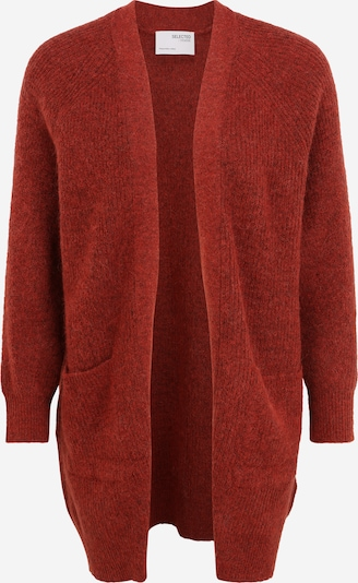 Selected Femme Petite Knit Cardigan in Red, Item view