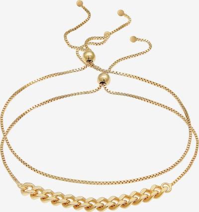 ELLI Armband Basic Armband, Figaro in gold, Produktansicht