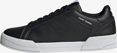 Sneaker low 'Court Tourino' ADIDAS ORIGINALS pe negru / alb, Vizualizare produs
