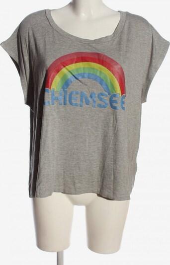 CHIEMSEE Oversized Shirt in XL in blau / hellgrau / rot, Produktansicht