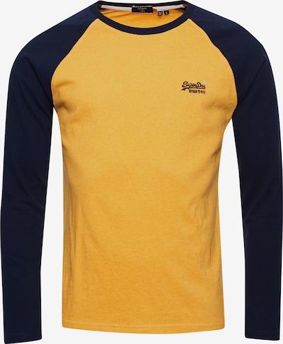 Superdry Shirt in blau / gelb, Produktansicht