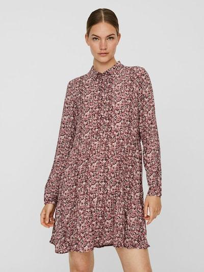 VERO MODA Kleid 'Saga' in mischfarben / pink, Modelansicht