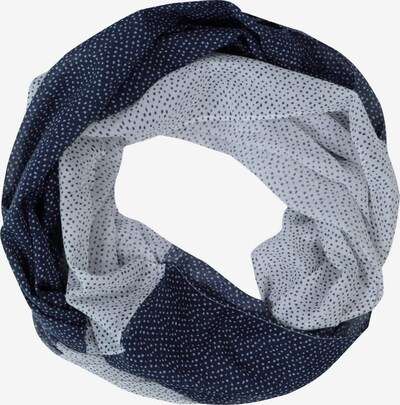 Ulla Popken Schal in nachtblau / hellblau / weiß, Produktansicht