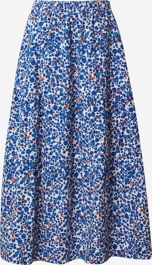 InWear Rok 'Haruka' in de kleur Blauw / Sinaasappel / Wit, Productweergave